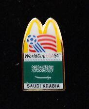 Saudi Arabia Colorful Muslim Arab Country Flag ~ McDonalds World Cup Soccer Pin