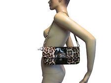 NWT COACH Kristin Leopard Haircalf Clutch w/Dust Bag - 11.5x5.5x1 - 15985 - $598