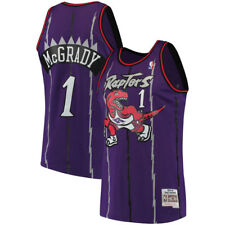 Toronto Raptors Tracy McGrady Mitchell Ness Purple Hardwood Classic Jersey XL