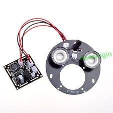 2 spot light IR LED board Infrared 850nm/940nm bulb For CCTV Camera D=72mm