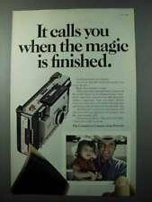 1970 Polaroid Model 350 Camera Ad - It Calls You