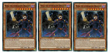 3 X Ninja des Schwarzen Drachen MP17-DE086 ,Common, Mint,  Playset
