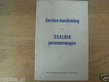 SCALDIA SERVICE HANDLEIDING PERSONENWAGEN