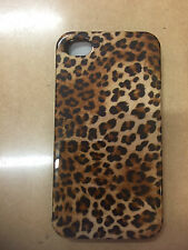 Brand New Audiosonic iPhone 4/4s Case - Leopard Print