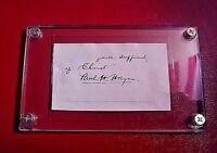 "Paul Hamilton Hayne ""HENRY TIMROD"" signed signature Poet 1830-1886 autograph"
