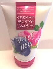 Bath & Body Works Sweet Pea Creamy Body Wash moisturizing