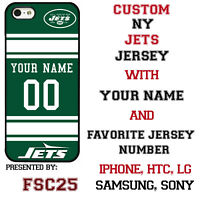 New York Jets Football Phone Case Cover Customized for iPhone Samsung etc.