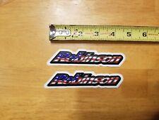 Robinson Rebel Mid School BMX Bike Decal Set Stickers American Flag