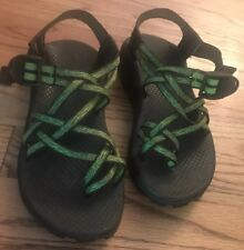 NEW Chacos 5m ZX/2 Vibram Unaweep Womens Green Black Army Olive Sandal Hiking