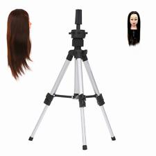 Mini Tripod Stand Metal Block Cosmetology Mannequin Head Tripod Wig Stand L2T5