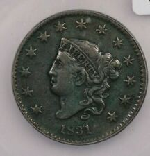 1831-P 1831 Liberty Head Large Cent 1c ICG VF35 Details