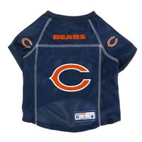 Chicago Bears NFL LEP Dog Pet Mesh Jersey, Navy Licensed Sizes XS-XL