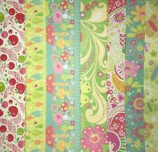 K & Company Berry Sweet Butterfly Cherry Glitter Scrapbooking Paper 12x12 Pick 1