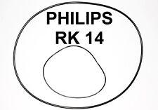 SET RIEMEN PHILIPS RK 14 TONBANDMASCHINE RK14 EXTRA STRONG FABRICKFRISCH NEU