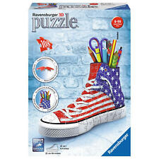 Ravensburger 3D Puzzle Organizer Sneaker American Style Stiftebox Kinder 108 T.