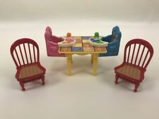LOVING FAMILY Twin Time HOUSE GRAND MANSION Table Kitchen Baby High Chair