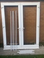 White UPVC French Doors And Glazing. Massive Tall!!
