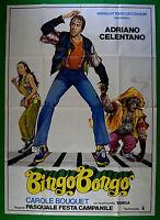 M50 Manifesto 4F Bingo Bongo Adriano Celentano Carole Bouquet Tanga Iglesia