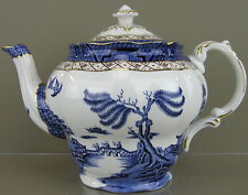 Royal Doulton China, Booths 'Real Old Willow' (TC1126) Pattern, Tea Pot w/Lid