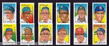 St Vincent - 1989 Baseball Players (2nd Series) - U/M - SG 1276-93 - SPECIMEN