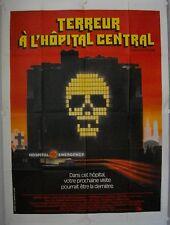Affiche Cinéma TERREUR HOPITAL CENTRAL 1977 Lord, Grant, Shatner