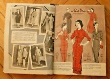 Convolut of 2 Fashion Magazines. 1950-s VINTAGE RUSSIAN USSR