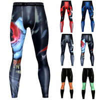 Mens Compression Pants Sweatpants Workout Dri-fit Base Layer Athletic Leggings