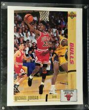 Michael Jordan 1991-92 UPPER DECK #44 1st UD Rookie Card Blow Up 8x10 w/ Org Box