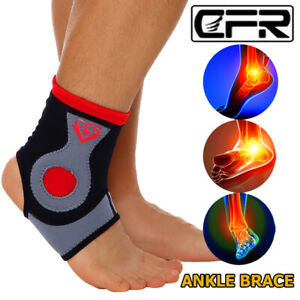 Ankle Arch Support Compression Sleeve Brace Foot Pain Relief Plantar Fasciitis