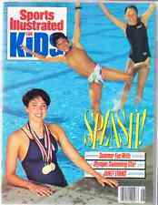 June 1989 Janet Evans Olympic Swimming Sports Illustrated For Kids NO LABEL