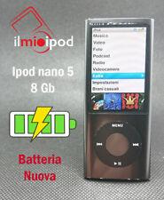 Ipod nano 5 da 8 Gb - Batteria sostituita con una nuova