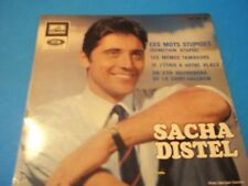 45 Tours 4 Titles / Sacha Distel and Joanna Shimkus These Words as Seen on the