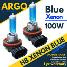 H8 Xenon Blue Bulbs Headlight 100w Hid 708 Halogen Fog Light Lamps Car Bulb 12v