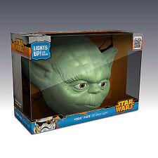 Star Wars 3D FX Deco LED Luce di notte Parete Yoda Testa  Decorazione Lampada