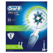 Oral-b Pro 670 Crossaction cepillo de dientes Eléctrico