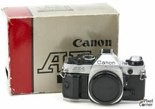 Canon AE-1 Program 35mm film SLR camera body Near Mint Boxed 4813434