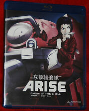 Ghost in the Shell Arise Anime Series Complete Borders 1 & 2 DVD FUNIMATION