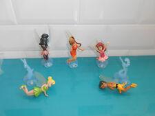 Lot Figurines Disney La féé clochette Tinker bell fawn rosetta vidia iridessa