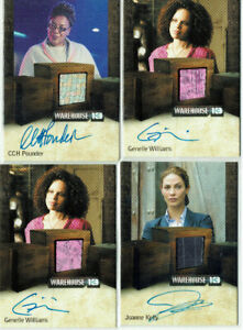 Warehouse 13 Season 3 & 4 Rittenhouse Auto Autograph Costume Card Selection