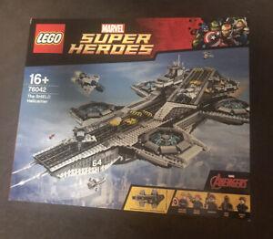 NEW SEALED Lego Marvel Super Heroes Avengers 76042 The SHIELD Helicarrier