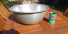 Large Vintage Aluminium Mixing Bowl - c. 1960's - Would Make A Great Planter