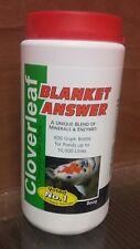 Cloverleaf Blanket Answer 800g koi goldfish pond.