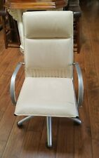 SITLAND LEATHER OFFICE CHAIR- ITALY (retails $1299)