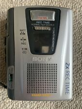 Sony Tcm 50 Dv Handheld Cassette Recorder W/ Speed Control. Fully Tested.