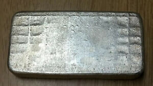 VINTAGE Silver Towne - 10oz. .999 Silver Bar - STRONG Old Pour Waffle Back RARE