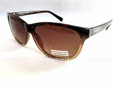 NWT Tommy Hilfiger JESSA Authentic Brown Gold Sunglasses gift idea /462/ NEW