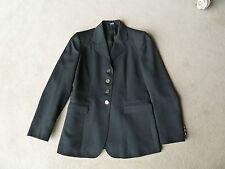 LADIES DRESSAGE ROYAL WINDSOR COMPETITION SHOW JACKET,  BLACK , SIZE: 10