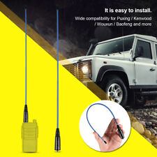 Soft Dual-Band U/V 144/430MHz Antenna for Wouxun Baofeng UV-5R Two Way Radio DH