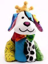 "ROMERO BRITTO 'Royalty Dog' Soft MINI 7"" Plush Stuffed Animal Puppy Dog Toy NWT!"