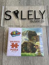 "Super Mario Odyssey Cascade Kingdom 200-Piece Puzzle 9""x 11"" Sealed New"